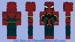 Spiderman infinity war Minecraft Skin