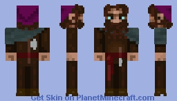 Lumberjack dwarf  (Beneath The Mists) Minecraft Skin