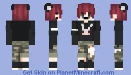 ━☆ Chico Gato/Cat boy ☆━ Minecraft Skin