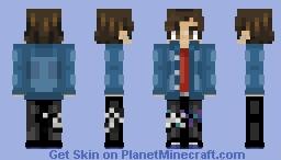 RM ~ BTS Minecraft Skin