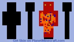 FireSkin Minecraft Skin