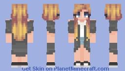 【wнiтee♕】Bored Minecraft Skin