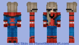spider girl Minecraft Skin