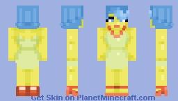 generic yellow house wife. Minecraft Skin