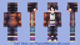 Time is Running Out ∆ OC Minecraft Skin