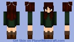 ღ Winter outfit ღ Minecraft