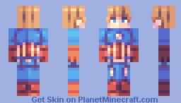 cap Minecraft Skin