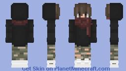 Masked Boy (Remake of Scarf Boy) Minecraft Skin