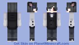 Chico mayordomo / boy butler. :3 Minecraft Skin