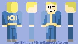 Vault Boy 101 Minecraft Skin