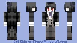 The Circus Has Only Began - Sebastian Michaelis Minecraft Skin