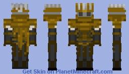 Nameless King (Dark Souls III) Minecraft Skin