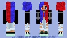 ElementalGirlMC Minecraft Skin