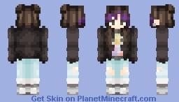 BTS - JHope (Genderbend - Fake Love) Minecraft Skin