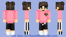 (c) lqvender | you so f---in precious when u smile Minecraft Skin