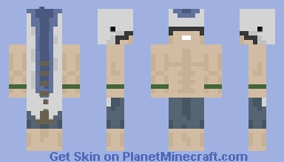 His name is JOOHN TUUNA Minecraft Skin