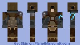 OC Beaver Beast Minecraft Skin