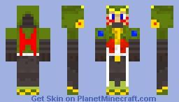 Steel Massimo Minecraft Skin