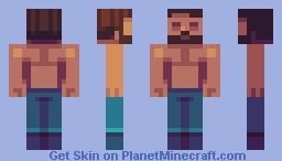 Sunlight Steve Minecraft Skin
