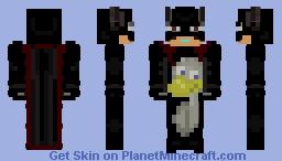 ﴾ξꭚꞕꝍ₮₮ἷ﴿ Not Batman, Duckman Minecraft Skin