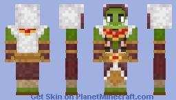Thrall Minecraft Skin
