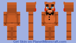 Toy Freddy | FNaF 2 Minecraft Skin