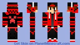 RedBoy Minecraft Skin