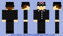 West Yorkshire Police Officer Minecraft Skin