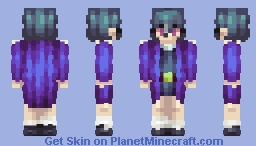 night time witch Minecraft Skin