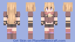 my sunshine Minecraft Skin