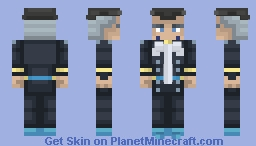 Yuya Fungami | Diamond is Unbreakable Minecraft Skin