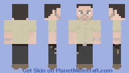 Rick Grimes | The Walking Dead | 9x01 Minecraft Skin