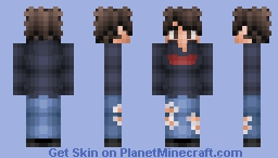 Commission (2) for GradiaM Minecraft Skin
