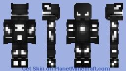 White robot Minecraft Skin