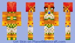 ZELDA: BOTW - Plus-Sized Gerudo (recolors inside!) Minecraft Skin