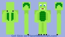 Winston the Dragon (OC) Minecraft Skin