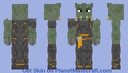 Cull Obsidian Minecraft Skin