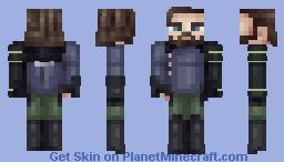 'Bucky', the Winter Soldier | Infinity War Minecraft Skin