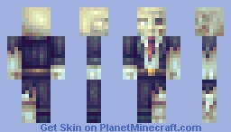 Death is always just around the corner Minecraft Skin