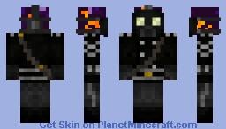 Obsidian Golem The Soldier Minecraft Skin