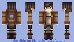 Attack On Titan - Survey Corps Soldier Minecraft Skin