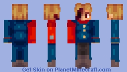 Red Leader/Tord (Read Description!!, Reupload!) Minecraft Skin
