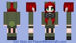 ~Plushtrap Luna ( Remake of one of my skins )~ Minecraft Skin