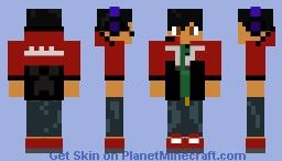 SteveTheEevve real life Minecraft Skin