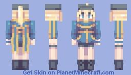 Mysterious Heroine X Minecraft Skin