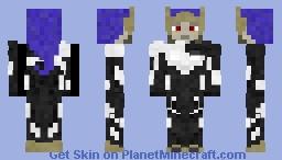 Proxima Midnight Minecraft Skin
