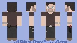 Rick Grimes | The Walking Dead | 5x08 Minecraft Skin