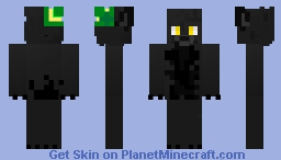 Saint Black Minecraft Skin