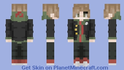 makoto naegi (danganronpa) (POPREEL ❤️) Minecraft Skin