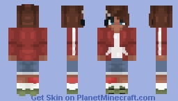 aoi asahina (danganronpa + new shading) Minecraft Skin